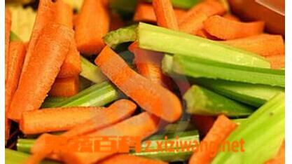 果蔬百科芹菜酸萝卜